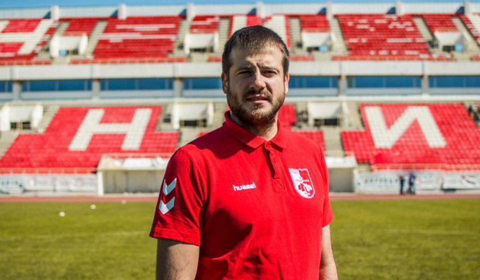 Nenad Lalatović. Foto FK Radnički Niš
