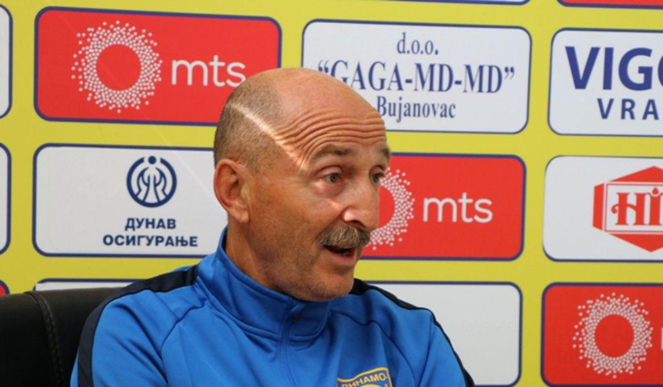 Radmilo Jovanović na današnjoj konferenciji za medije. Foto VranjeNews
