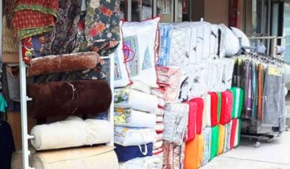 Jedna od prodavnica tekstila u Preševu. Foto Google View