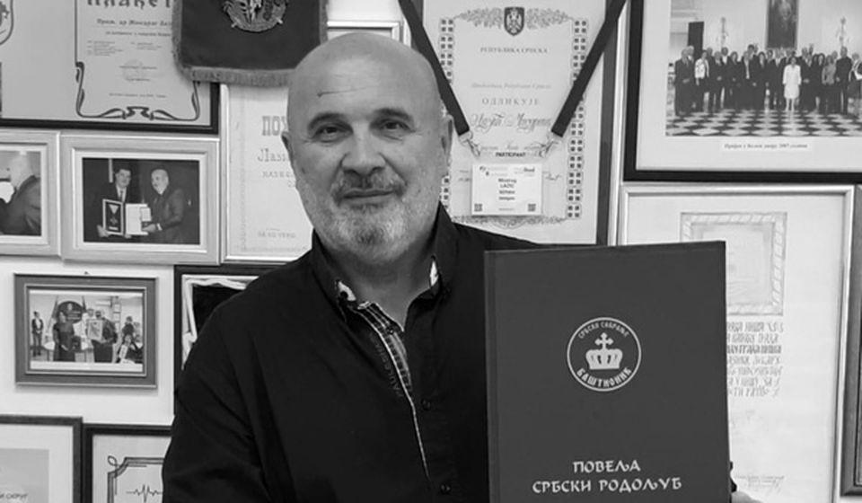 Prim. dr Miodrag Lazić. Foto KC Niš