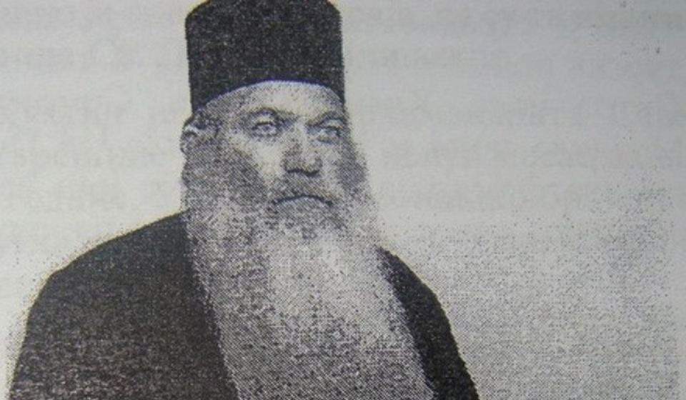 Pimen Milić. Foto izvor: FB grupa Znameniti ljudi leskovačkog kraja