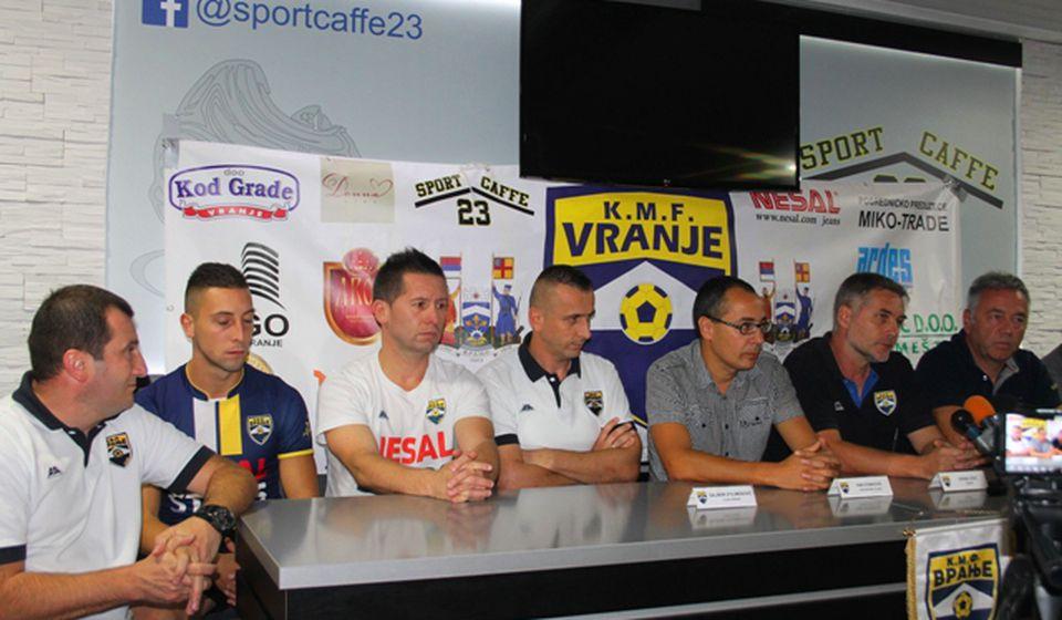 Cilj je play-out i opstanak u Prvoj ligi. Foto VranjeNews