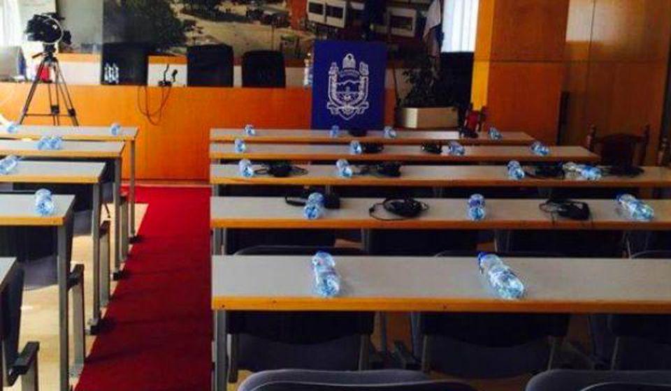 Mesto žestokih rasprava: sala Skupštine opštine. Foto SO Bujanovac