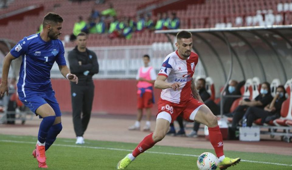 Detalj sa utakmice u Novom Sadu. Foto fkvojvodina.rs