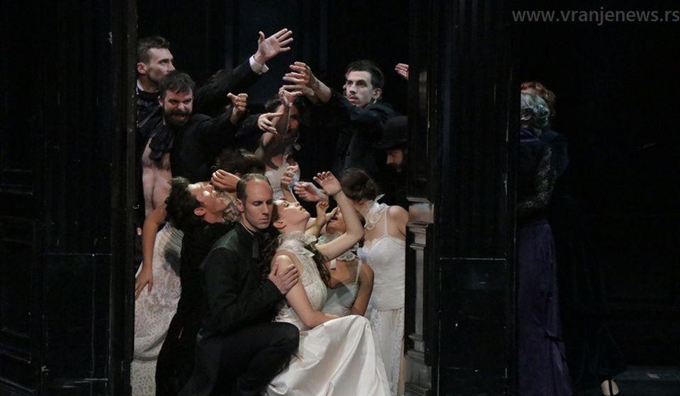 Detalj iz predstave Ana Karenjina. Foto Vranje News