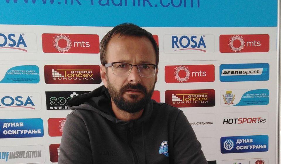 Dejan Đuričić. Foto FK Radnik