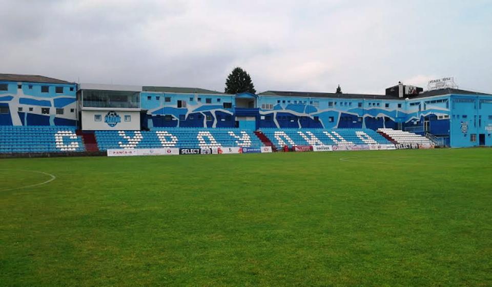 Stadion FK Radnik u Surdulici. Foto FK Radnik