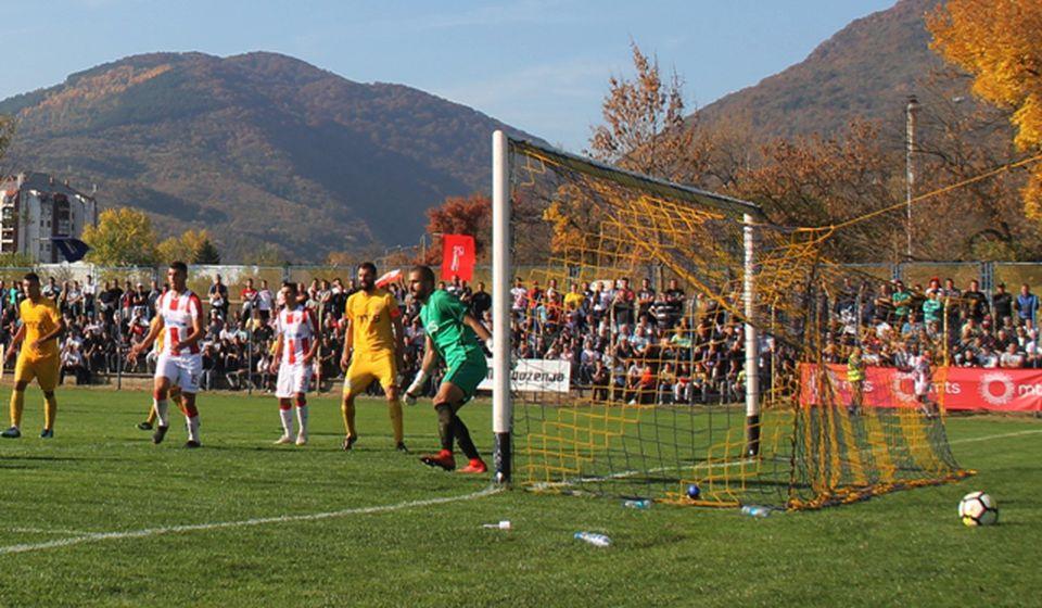 Đurić na kup utakmici sa Zvezdom u Vranju. Foto VranjeNews