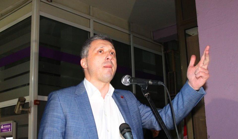 Naši najvažniji ekonomski resursi predati su u ruke stranaca: Boško Obradović. Foto VranjeNews
