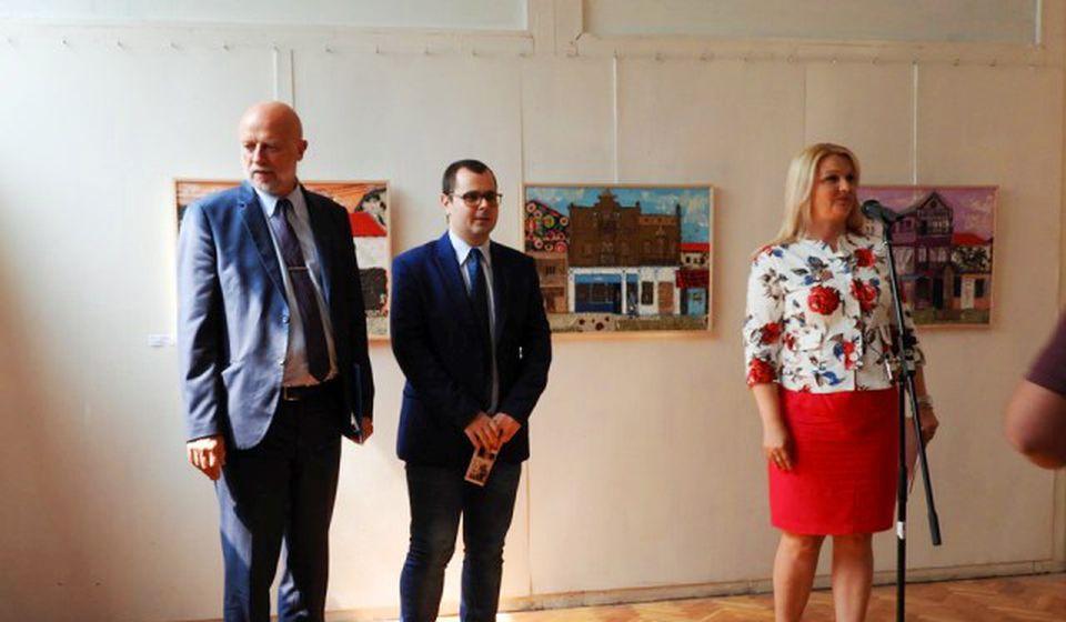 Gost sa domaćinima: konzul dr Edvin Sugarev, Darko Anačkov i Gordana Dimitrijević. Foto NU