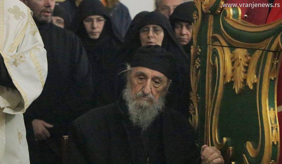 Monah Jovan Radosavljević ima 94 godine. Foto Vranje News