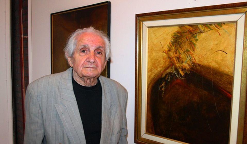 Vranje napustio 1957, ali svoje odsustvo svake godine odužuje sa po deset slika. Foto VranjeNews
