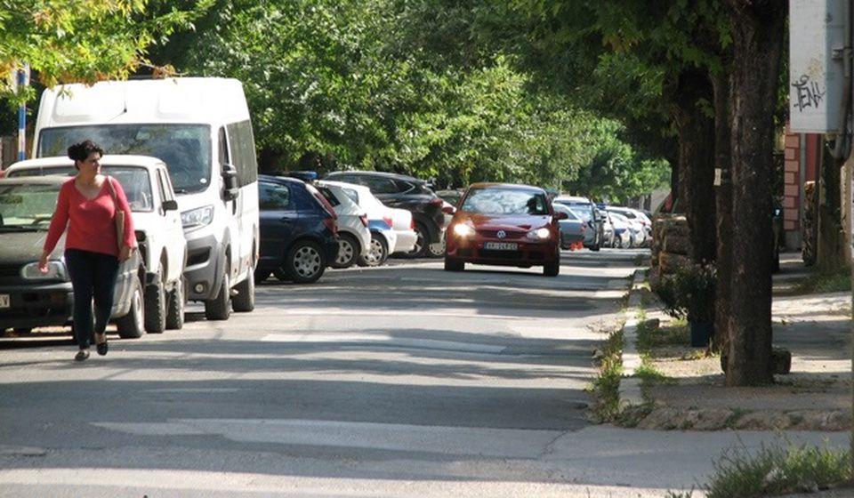 Ulica Matije Gupca u Vranju. Foto Vranje News