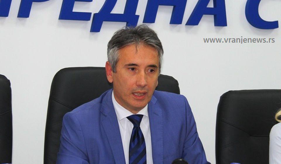 Gradonačelnik Vranja Slobodan Milenković. Foto VranjeNews