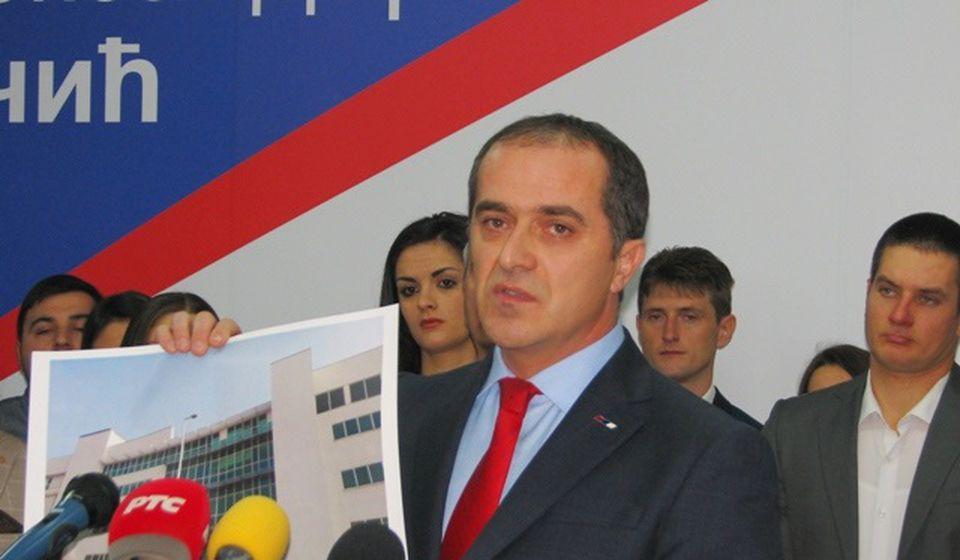 Slaviša Bulatović, narodni poslanik iz Vranjske Banje. Foto VranjeNews