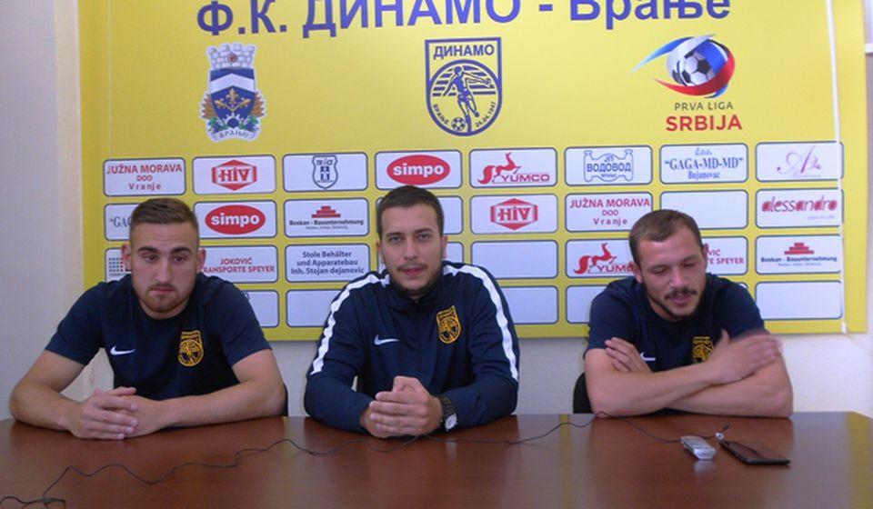 Antić: Ne smemo da omalovažimo poslednju ekipu na tabeli. Foto VranjeNews