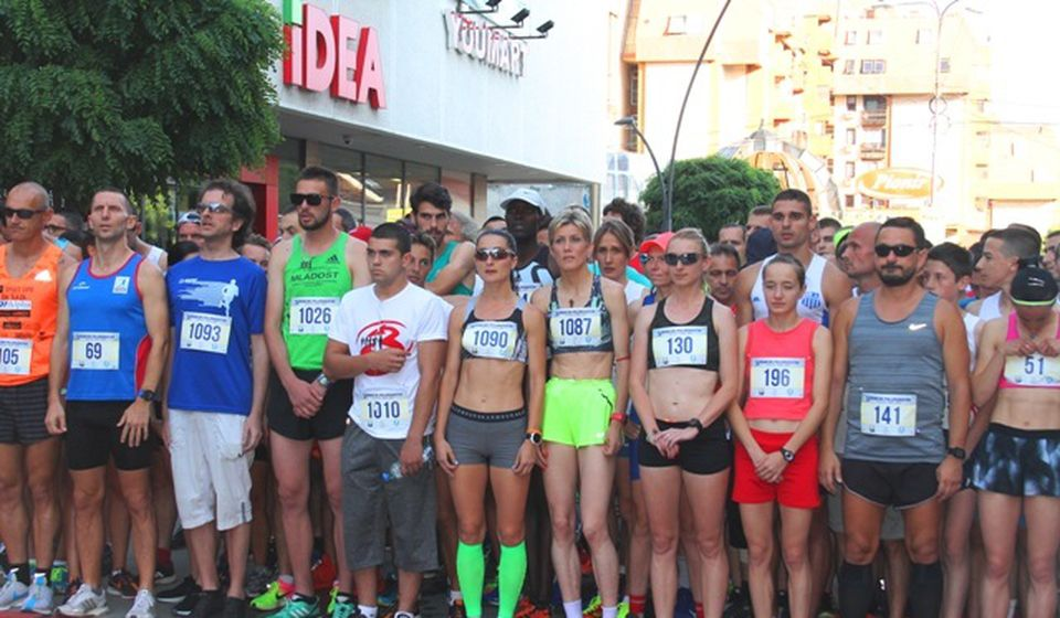 Detalj sa Trećeg vranjskog polumaratona. Foto VranjeNews