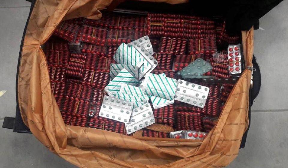 Pronađena 41.000 opojnih tableta. Foto Uprava carina