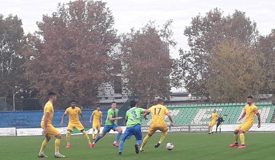 Detalj sa utakmice u Zemunu. Foto FK Dinamo