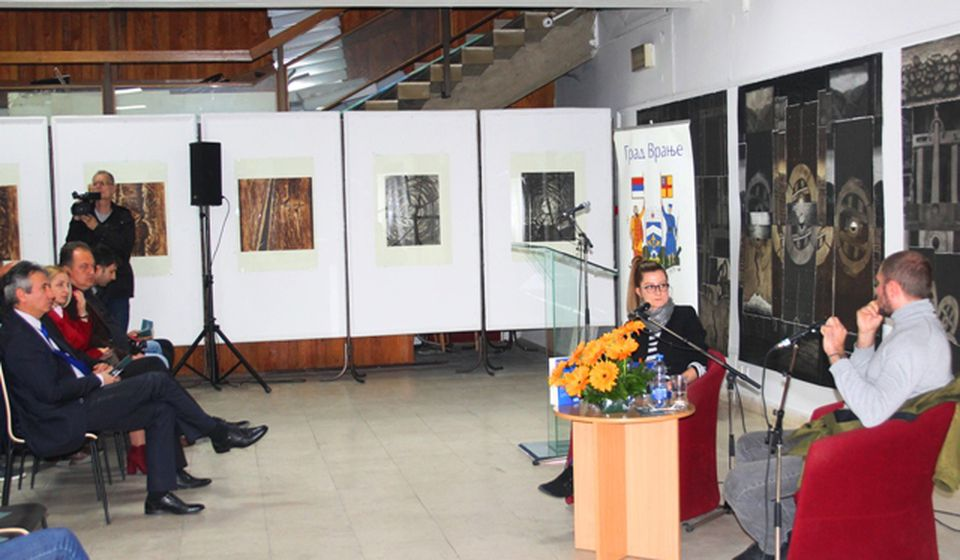 Borini književni dani počeli promocijom romana dobitnika NIN-ove nagrade. Foto VranjeNews