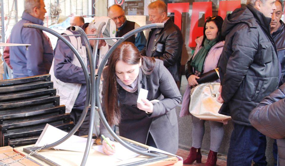 Očekuje se da peticiju potpiše oko 300 ljudi. Foto Vranjenews
