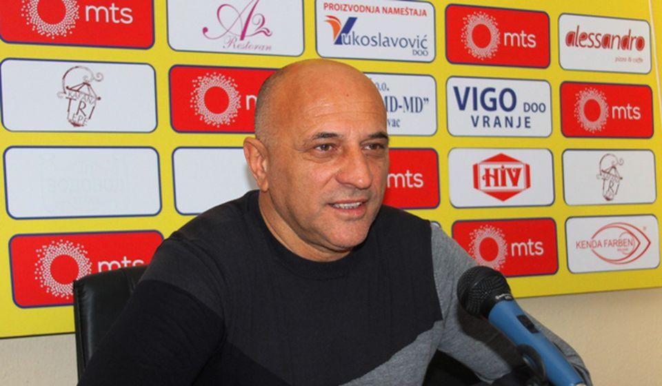 Verujem u opstanak u Super ligi: Dragan Antić. Foto VranjeNews