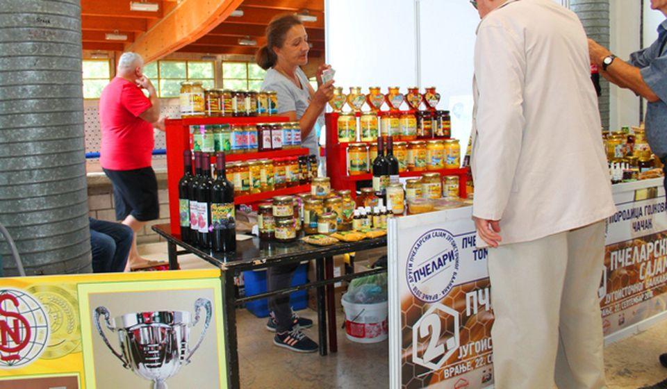 Detalj sa sajma pčelarstva u Vranju. Foto VranjeNews