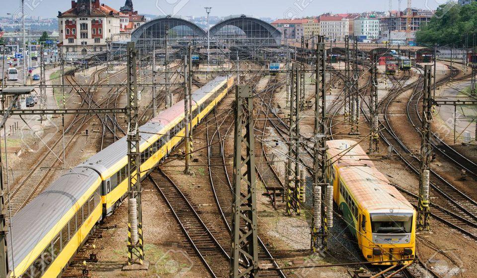 Železnica u Pragu, ilustracija Foto 123rf.com