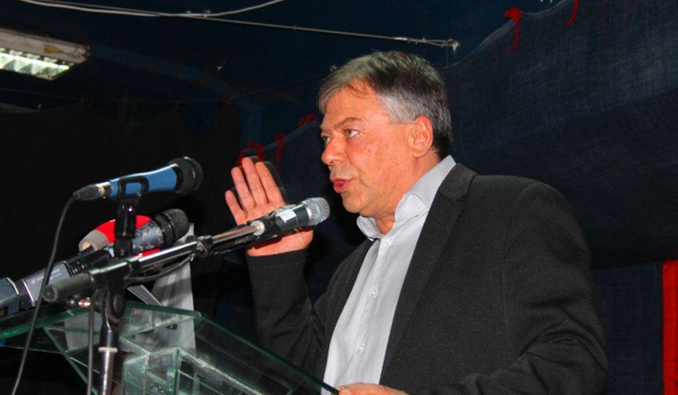 Novica Tončev na jednom od stranačkih skupova SPS-a. Foto VranjeNews