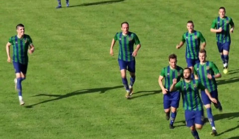 Radost Zemunaca posle izjednačujućeg gola. Foto printscreen Youtube (Super liga)