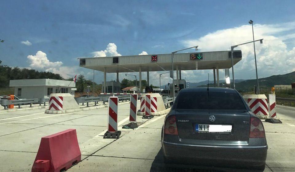 Naplatna rampa kod Vranja. Foto VranjeNews