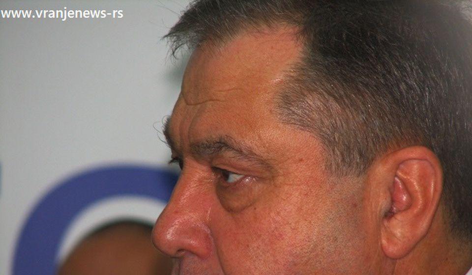 Stojilković u vreme dok je bio potpredsednik vranjskog SNS-a. Foto Vranje News