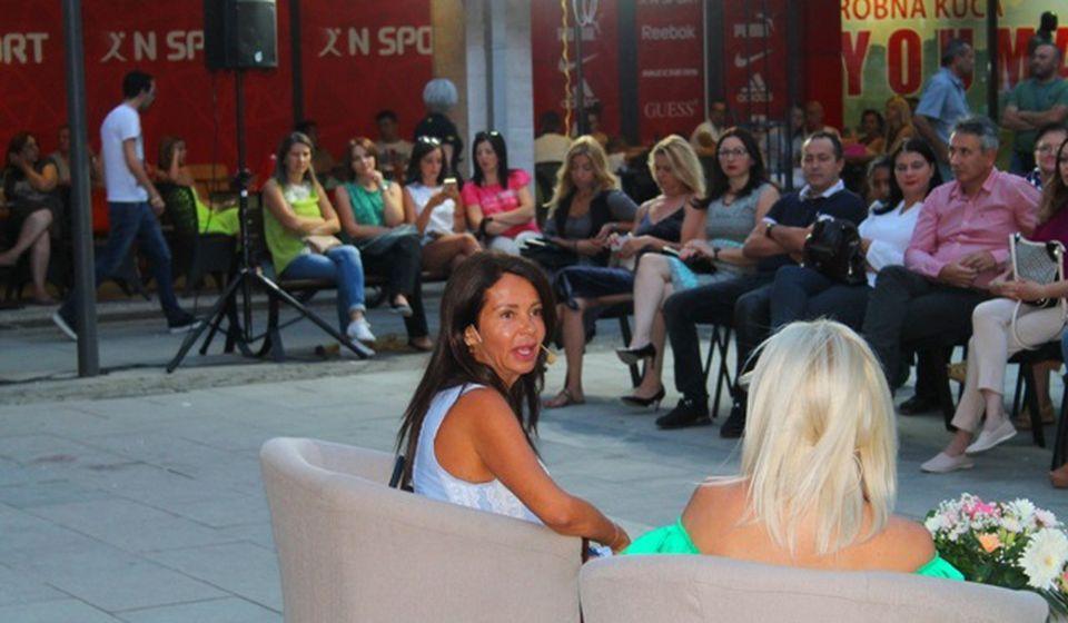 Detalj sa prošlogodišnjih Dana Vranja: gostovanje Jelene Bačić Alimpić. Foto VranjeNews