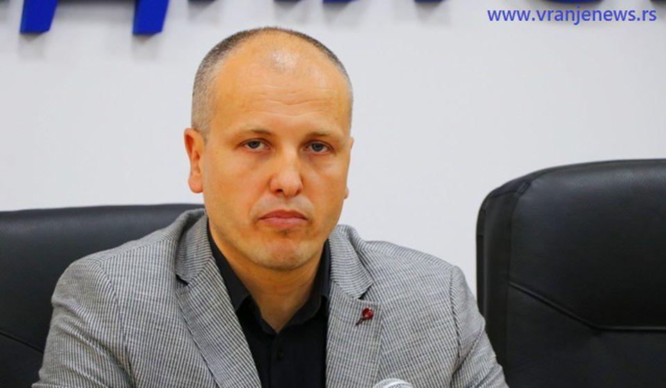 Direktor vranjskog pozorišta Nenad Jović. Foto VranjeNews