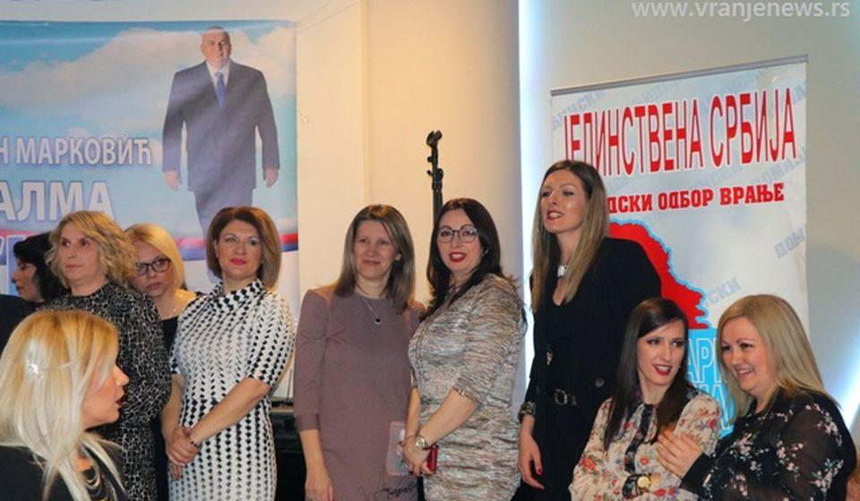 Članice Aktiva žena JS na jednom od skupova partije u Vranju. Foto ilustracija Vranje News