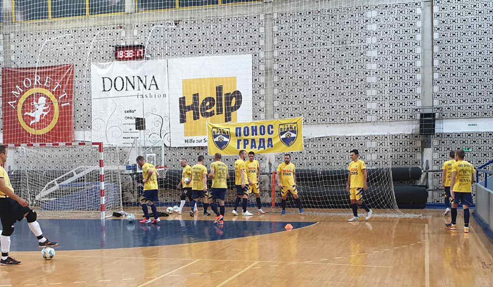 Već u petak Vranjanci gostuju šampionu Crvenoj zvezdi. Foto KMF Vranje (Fejsbuk)