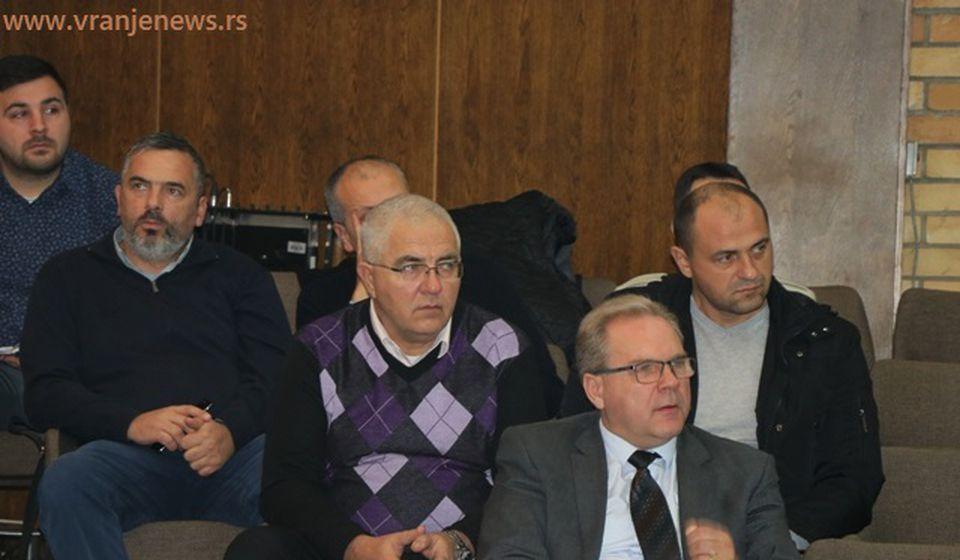 Direktori javnih preduzeća podnose izveštaje. Foto VranjeNews