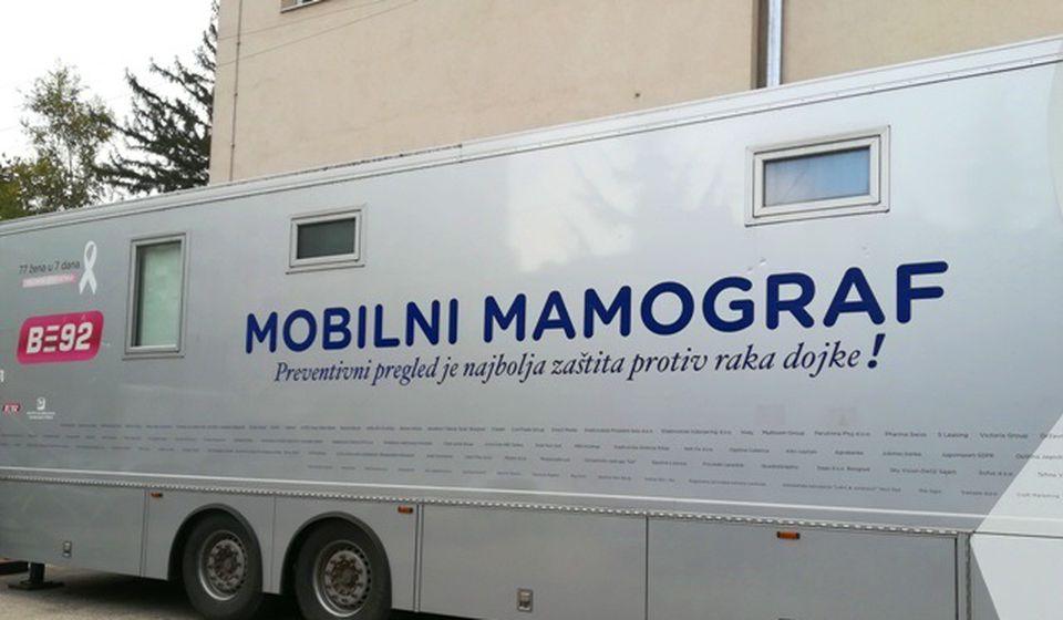 Mamograf za dijagnostiku ranog otkrivanja raka dojke. Foto VranjeNews