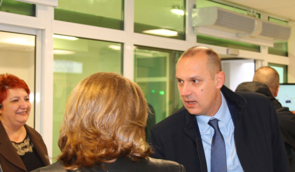 Zlatibor Lončar na otvaranju Hirurškog bloka u Vranju u decembru 2018. Foto Vranje News