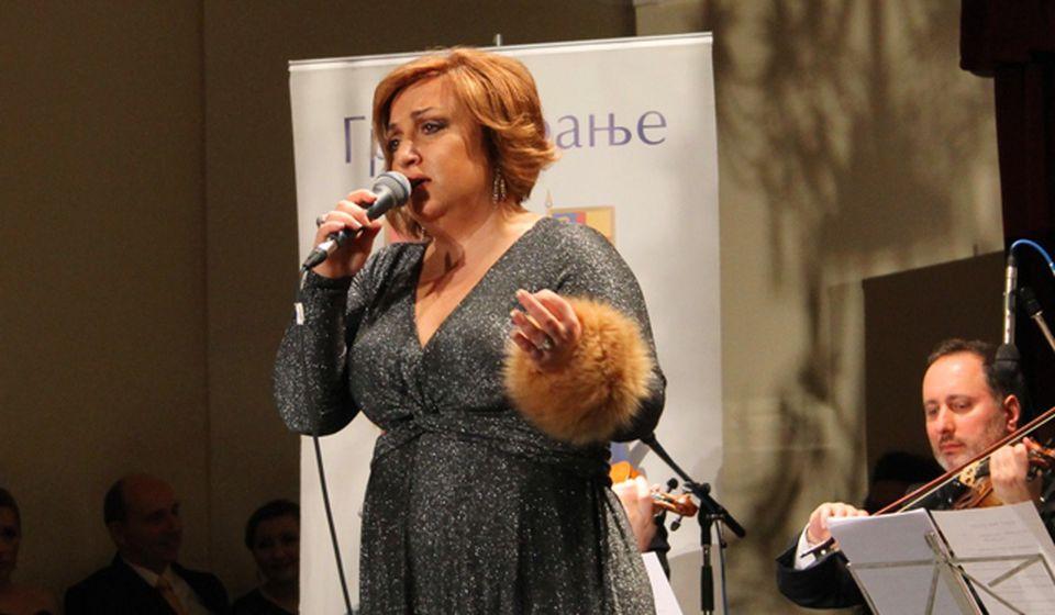 Solistkinja Radio Beograda Biljana Petković. Foto VranjeNews