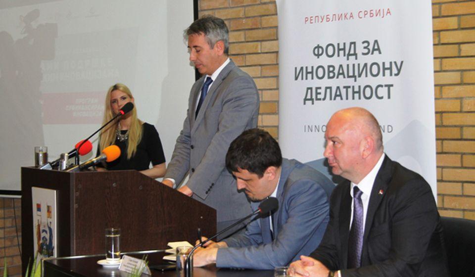 Privatni sektor uz pomoć inovacija konkurentniji na tržištu: Slobodan Milenković. Foto VranjeNews