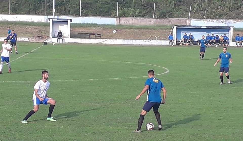 Detalj sa poslednjeg Dinamovog kontrolnog meča. Foto FK Dinamo