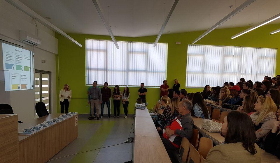 Budući studenti, dobro došli. Foto VranjeNews