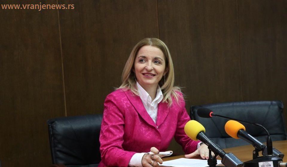 Portparolka veća i gradska većnica za obrazovanje Zorica Jović. Foto VranjeNews