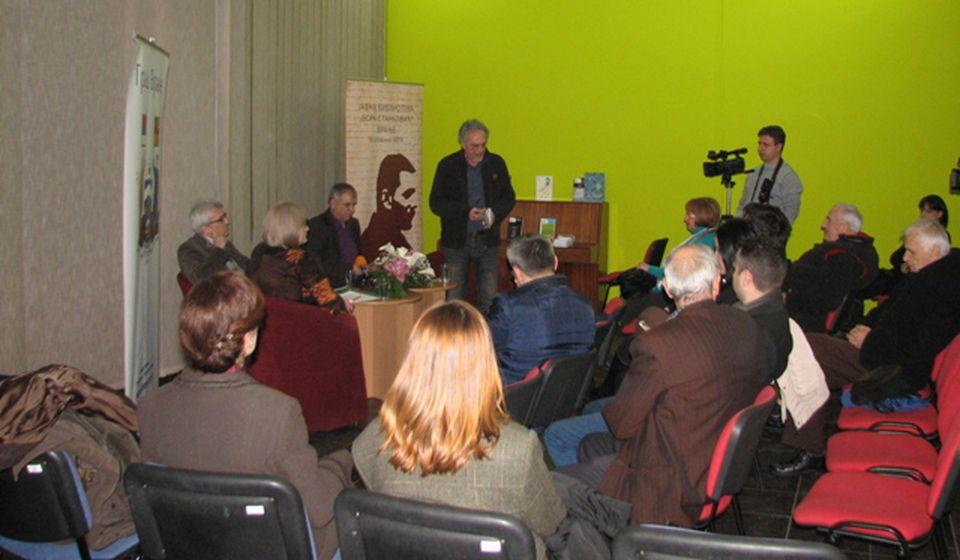 Savić je bio stožer poezije na KiM: Duško Novaković. Foto VranjeNews