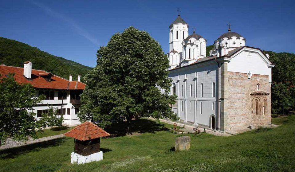 Manastir u Prohoru. Foto Eparhija vranjska
