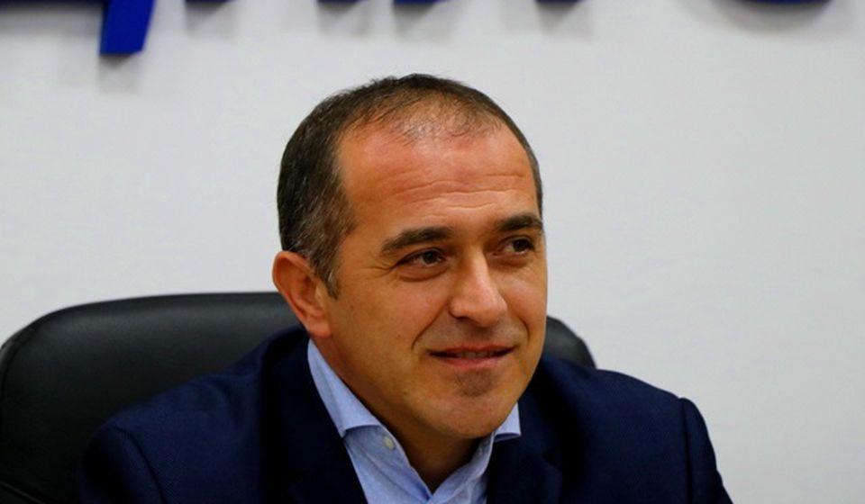 Slaviša Bulatović na konferenciji za medije u četvrtak. Foto VranjeNews
