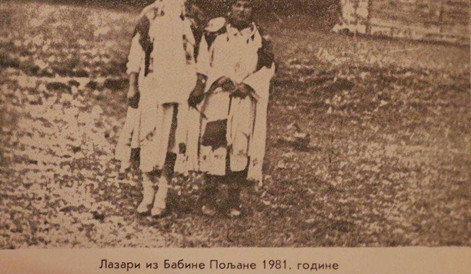Lazari iz Babine Poljane. Foto izvor