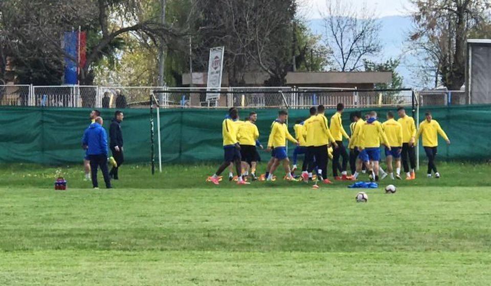 Svi fudbaleri Dinama u konkurenciji za tim. Foto VranjeNews