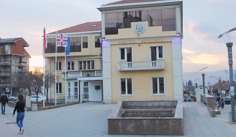 Zgrada opštinske uprave u Surdulici. Foto Vranje News